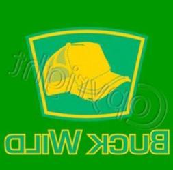 Buck Wild Trucker Hat logo T Shirt  Choose Style, Size, Colo