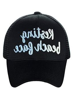 C.C Ponycap Color Changing 3D Embroidered Quote Adjustable T