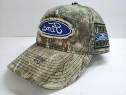FORD Camo Trucker Cap, Baseball Hat, Hotrod, Mustang, 4 x 4
