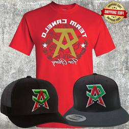 Canelo Saul Alvarez Hat with FREE RED T-Shirt -  Choice of T