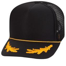 OTTO CAP Oak Leaf Foam Front Trucker Hat