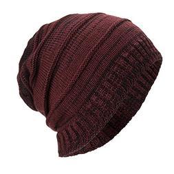 GOVOW Caps for Women Men Eliminate Cancer Warm Baggy Weave C