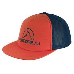 La Sportiva CB Trucker Hat, Flame/Ocean, L/XL