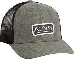 RVCA Men's Charcoal Grey Ticket Trucker Hat