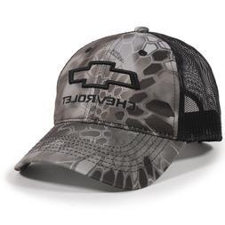 Chevrolet Kryptek Raid Mesh Back Camo Cap Chevy Trucker Hat