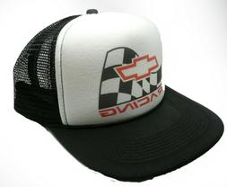 Chevy racing Hat Vintage Snap back Cap new adjustable black