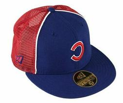 Chicago Cubs Fitted 59Fifty MLB Baseball Trucker Hat Cap by