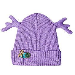 Christmas Newborn Baby Boy Girl Deer Hat- Winter Warm Knit C