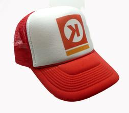 Circle K Hat Trucker Hat adjustable snap back hat Red vintag
