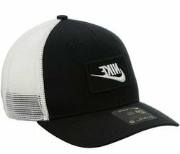 Nike Classic 99 Trucker Hat Black White Snapback Mesh Patch