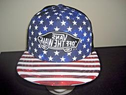 Vans Classic Patch Stars & Stripes BlackTrucker Snapback Hat