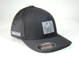 Columbia Spring Grove _ Black Patch Trucker Cap _S/M Flexfit