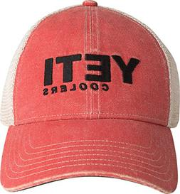 YETI Coolers Washed Low-Pro Trucker Hat, Red