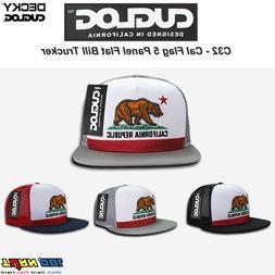 DECKY CUGLOG Cal Flag Mesh Trucker Hat 5