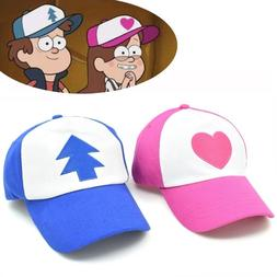 Curved Bill BLUE PINE TREE Dipper Gravity Falls Cartoon Mesh