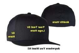 Custom Embroidered Flexfit Hat - Multiple Colors & Styles!!!
