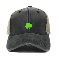 Custom Trucker Hat Irish Mini Clover Men Or Women's Baseball