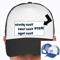 Custom Trucker Snap Back Hat Baseball Cap Pick Your Color Ha