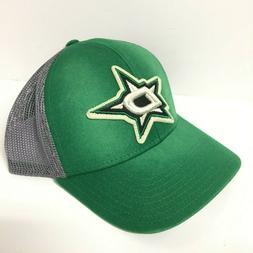 Dallas Stars NHL CCM Meshback Trucker Snap Back Hat Cap Gree