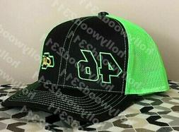 Days of Thunder #46 city chevrolet trucker hat cap Cole Tric