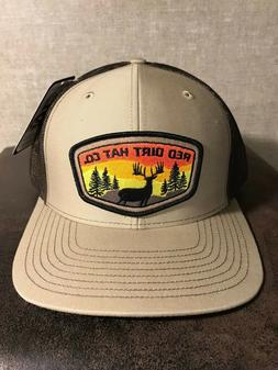Red Dirt Deer Tag Hunting Patch Hat SnapBack Trucker Richard