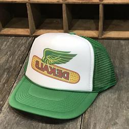 Dekalb Corn Seed Farmer Trucker Hat Vintage 80s Style Countr