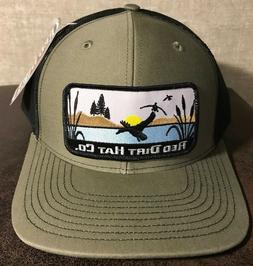 Red Dirt Duck Stamp Hunting Patch Hat SnapBack Trucker Richa