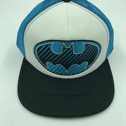 DC Comics Embroidered Batman Logo Foam Snapback Trucker Base