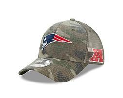 New England Patriots Camo Trucker Duel New Era 9FORTY Adjust