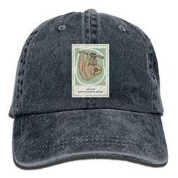 CUTEDAY Feeling Extra Slothy Today Sloth Animals Cap Unisex
