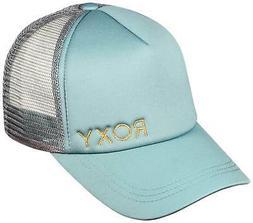 Roxy Finishline Women's Trucker Hat - Oil Blue - New