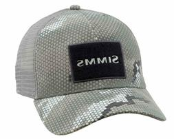 Simms Fishing High Crown Trucker Patch Hat Cap - Color Hex C