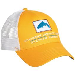 Simms Fishing Products Trout Trucker Patch Hat Cap - Straw C