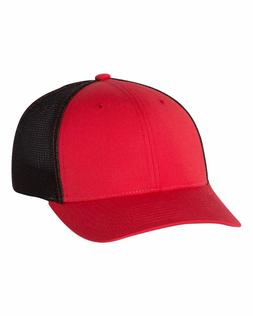 Richardson Fitted Trucker Hat with R-Flex Mesh Back Summer F