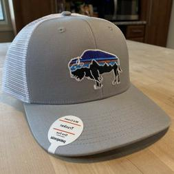 Patagonia Fitz Roy Bison Trucker Hat - New With Tags - Drift