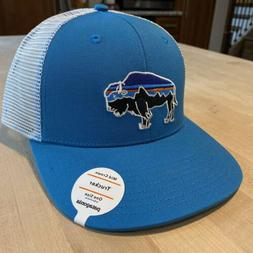 Patagonia Fitz Roy Bison Trucker Hat - New With Tags - Lumi