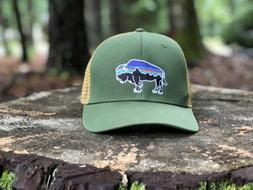 Patagonia Fitz Roy Bison Trucker Hat - New Without Tags - Bu