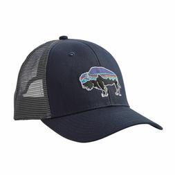 Patagonia Mens Fitz Roy Bison Trucker Snapback Cap/Hat 38049