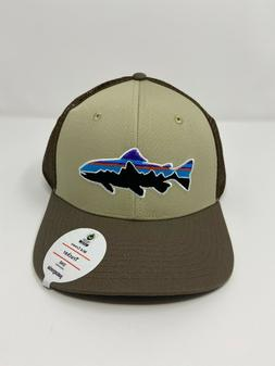 Patagonia Fitz Roy Trout Trucker Hat - New With Tags - Weath