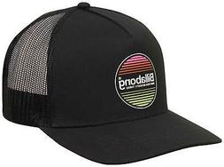 Billabong Flatwall Trucker Hat - Black - New