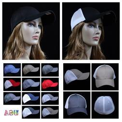 FLEX FIT Baseball Cap  Mesh Trucker Hat Hip Hop Fashion Hat
