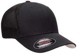 f1d2fd2f8ac8e Flexfit® 6511 Trucker Mesh Baseball Cap Plain Blank Hat Cur. 5