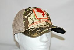 Simms Fly Fishing Bass Icon Trucker Mesh Snapback Hat Cap in