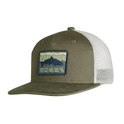Sage Fly Fishing Patch Trucker Baseball Hat, Green, One Size