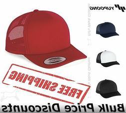 foam trucker cap with curved visor hat