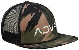 RVCA Foamy Trucker Hat - Olive Camo - New