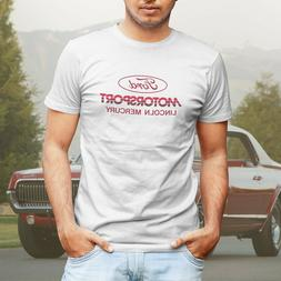 Ford Motorsport Lincoln Mercury SVO Retro Mens T-Shirt or Tr