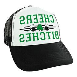 Funny St Patricks Day Hat Cheers B-tches Shamrock Gifts Gree