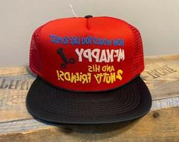 Funny vintage trucker hat Novelty snapback hat mens naughty