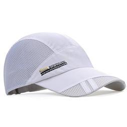 GADIEMENSS Quick Dry Sports Hat Lightweight Breathable Soft